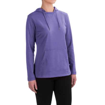 Dickies Plaited Jersey-Knit Hoodie (For Women) in Electric Violet - 2nds