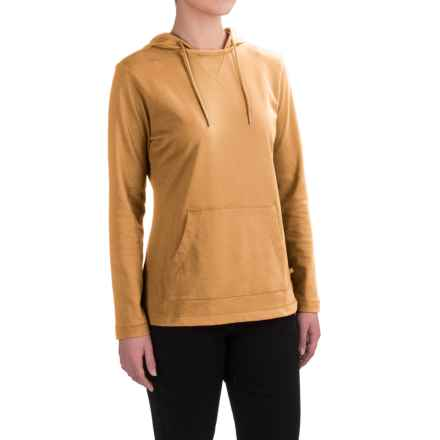 Dickies Plaited Jersey-Knit Hoodie (For Women) in Marigold - 2nds