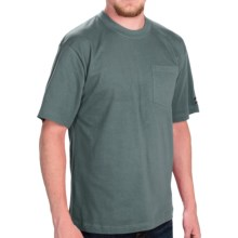 Dickies Pocket T-Shirt - 2-Pack, Cotton, Short Sleeve (For Men) in Lincoln Green - Closeouts