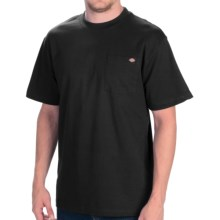 Dickies Pocket T-Shirt - Cotton, Short Sleeve (For Men) in Black - Closeouts