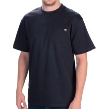 Dickies Pocket T-Shirt - Cotton, Short Sleeve (For Men) in Dark Navy - Closeouts