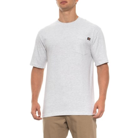 Dickies Pocket T-Shirt - Short Sleeve (For Men) in Ash Gray -