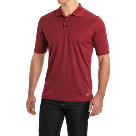 Dickies Polo Shirt - Short Sleeve (For Men) in Aged Brick - Closeouts