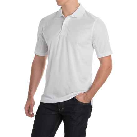 Dickies Polo Shirt - Short Sleeve (For Men) in White - Closeouts