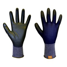 Dickies Polyurethane-Coated Gloves (For Men and Women) in Blue/Black - Closeouts