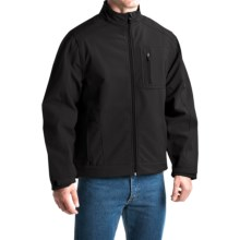 Dickies Premium Soft Shell Jacket (For Men and Big Men) in Black - Closeouts
