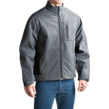 Dickies Premium Soft Shell Jacket (For Men and Big Men) in Charcoal - Closeouts
