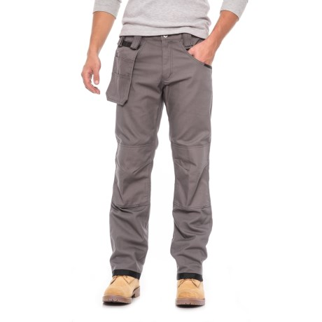 Dickies Pro Double-Knee Work Pants - Relaxed Fit, Straight Leg (For Men) in Gravel Gray
