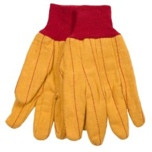 Dickies Quilted Chore Gloves (For Men and Women) in Yellow - Closeouts
