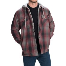Dickies Quilted Western Shirt Jacket - Hooded (For Men and Big Men) in Castle Rock - Closeouts