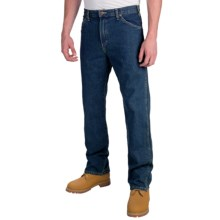 Dickies Regular 6-Pocket Jeans - Straight Leg (For Men) in Stonewashed Blue - 2nds