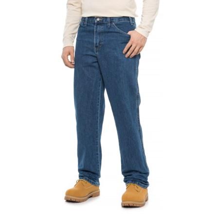 de9cbfac3 Dickies Regular Fit Jeans - 5-Pocket (For Men) in Stonewashed Indigo Blue