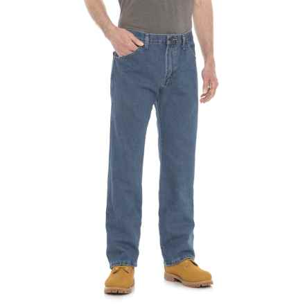 Dickies Regular Fit Jeans - 6-Pocket (For Men) in Stonewashed Indigo - 2nds