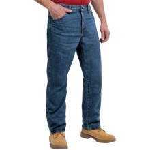 Dickies Regular Fit Jeans - Straight Leg (For Men) in Stonewashed Blue - 2nds
