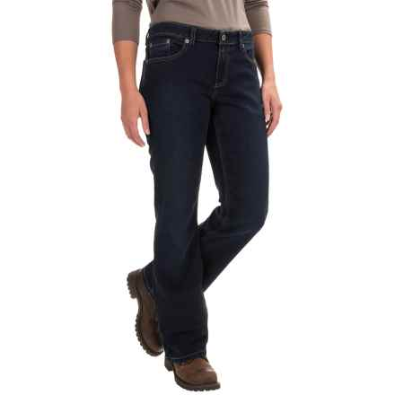 Dickies Relaxed Bootcut Jeans (For Women) in Dark Stonewash - 2nds