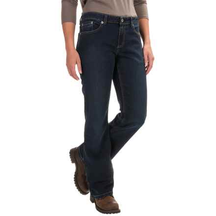 Dickies Relaxed Bootcut Jeans (For Women) in Medium Stonewash - 2nds