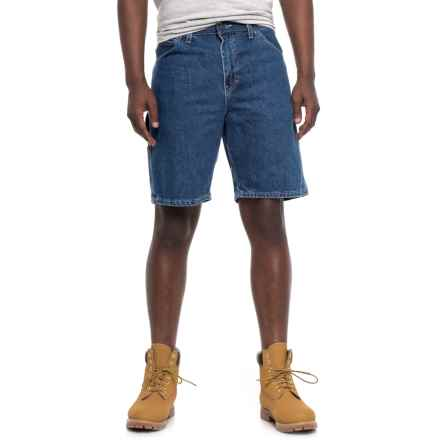 Dickies Relaxed Fit Carpenter Shorts (For Men) in Snb Stonewashed Indigo Blue - 2nds