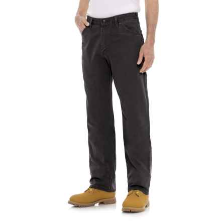Dickies Relaxed Fit Dungaree Jeans (For Men) in Stonewashed Black - 2nds