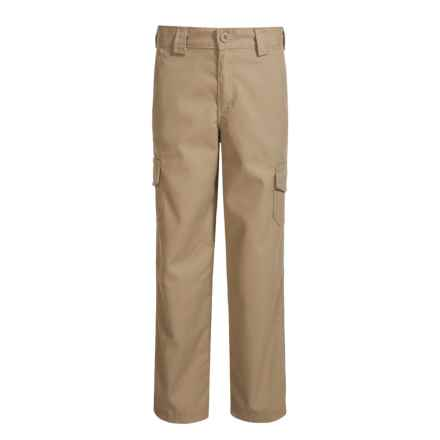 Dickies Relaxed Fit Straight-Leg Cargo Pants (For Boys) in Rinsed Desert Sand - Closeouts