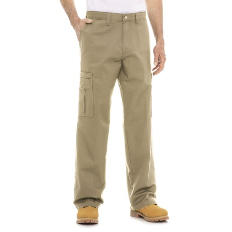 Dickies Relaxed Fit Twill Cargo Pants (For Men) in Desert Sand