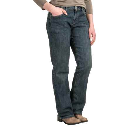 Dickies Relaxed Straight-Leg Jeans (For Women) in Antique Dark - 2nds