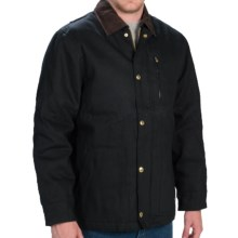Dickies Rigid Duck Chore Coat - Insulated (For Men and Big Men) in Black - Closeouts