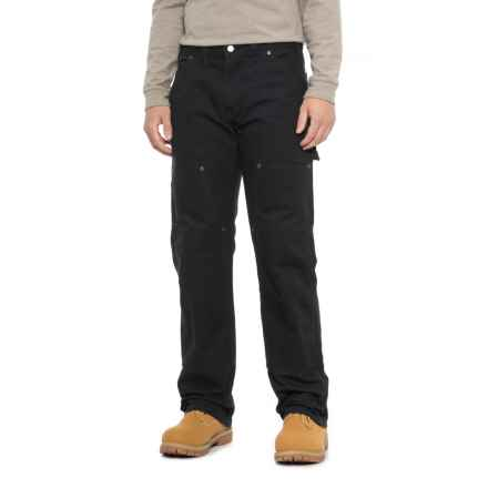 Dickies Rinsed Duck Double-Front Logger Pants - Relaxed Fit (For Men) in Rinsed Black - 2nds