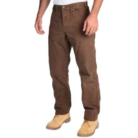 Dickies Sanded Carpenter Pants - Cotton Duck, Relaxed Fit (For Men) in Timber - 2nds