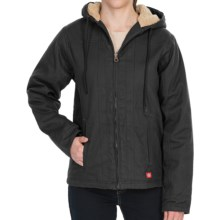 Dickies Sanded Duck Jacket - Sherpa Lined (For Women) in Black - Closeouts
