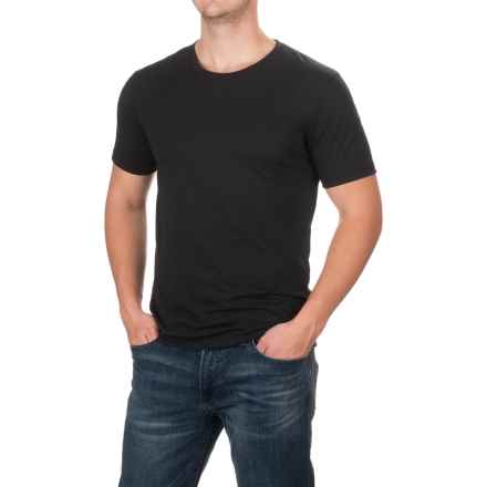 Dickies Slim Fit T-Shirt - Short Sleeve (For Men) in Black - Closeouts