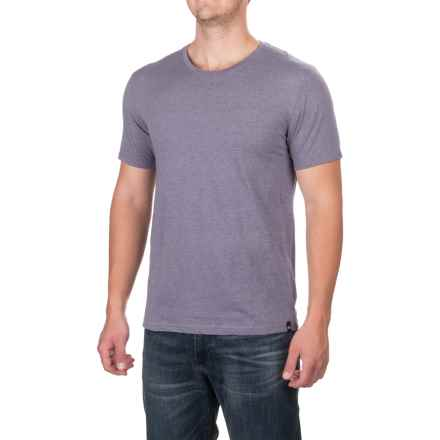 Dickies Slim Fit T-Shirt - Short Sleeve (For Men) in Blue Violet Heather - Closeouts