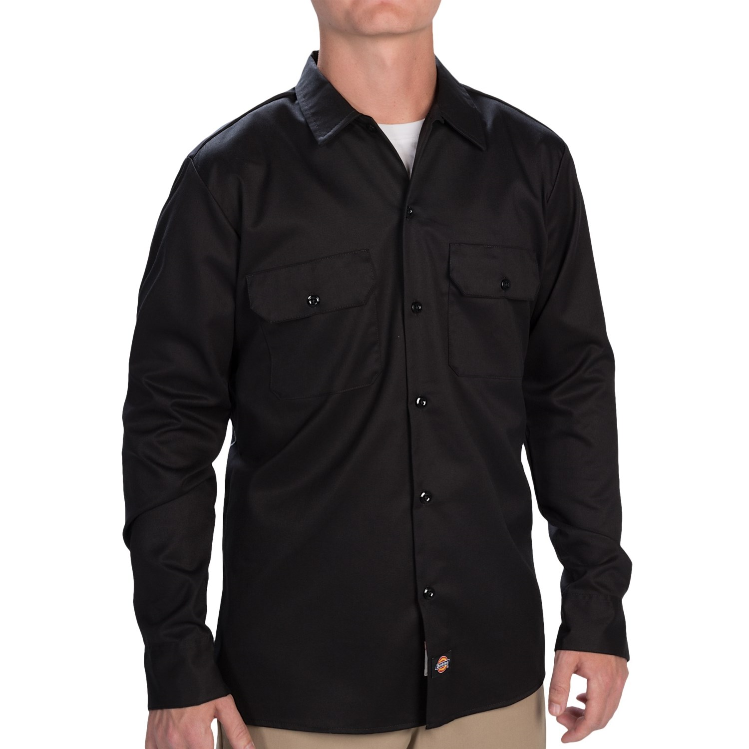dickies slim fit work shirt for men save 68