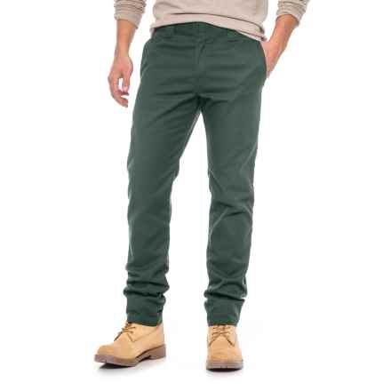 Dickies Slim-Tapered Work Pants (For Men) in Sage Green - Closeouts