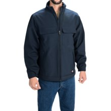 Dickies Soft Shell Work Jacket (For Men and Big Men) in Navy - Closeouts