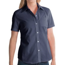 Dickies Stain-Resistant Pocket Work Shirt - Short Sleeve (For Women) in Dark Navy - 2nds