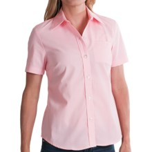 Dickies Stain-Resistant Pocket Work Shirt - Short Sleeve (For Women) in Pink - 2nds