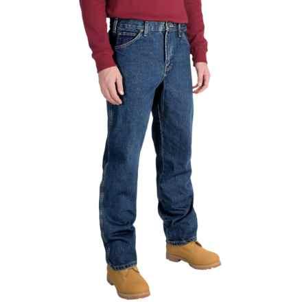 Dickies Stonewash Work Jeans - Regular Fit (For Men) in Stonewashed Indigo Blue - 2nds
