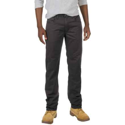 Dickies Straight Flex Twill Pants (For Men and Big Men) in Stonewashed Black - Closeouts
