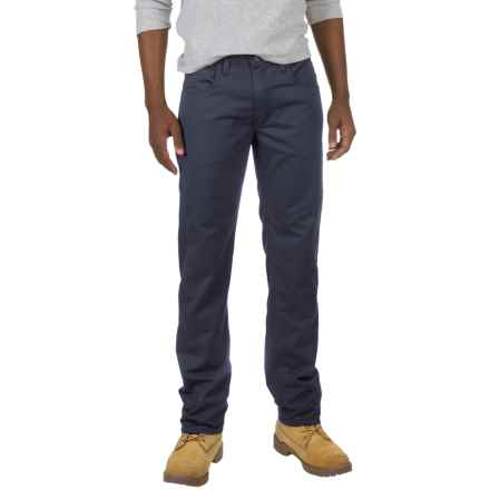 Dickies Straight Flex Twill Pants (For Men and Big Men) in Stonewashed Dark Navy - Closeouts