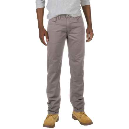 Dickies Straight Flex Twill Pants (For Men and Big Men) in Stonewashed Silver - Closeouts