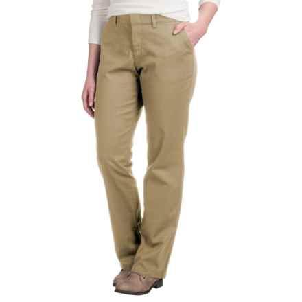 Dickies Straight-Leg Pants (For Women) in Khaki - 2nds