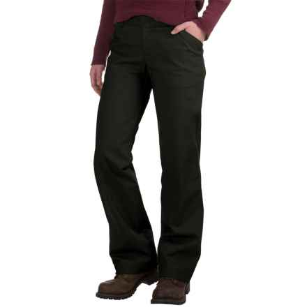 Dickies Stretch Twill Pants - Relaxed Fit (For Women) in Black - 2nds