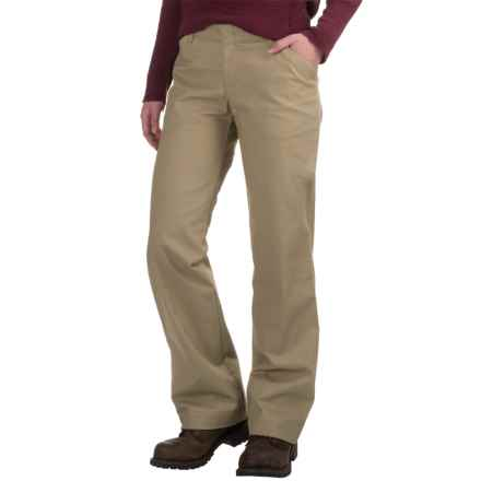 Dickies Stretch Twill Pants - Relaxed Fit (For Women) in Desert Sand - 2nds
