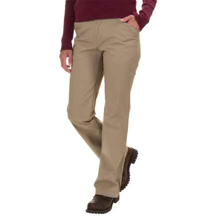 Dickies Stretch Twill Pants - Relaxed Fit, Straight Leg (For Women) in Desert Sand - 2nds