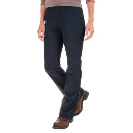 Dickies Stretch-Twill Pants - Slim Fit, Bootcut (For Women) in Dark Navy - 2nds