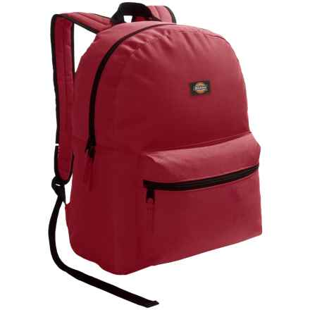Dickies Student Backpack in Burgandy - Overstock