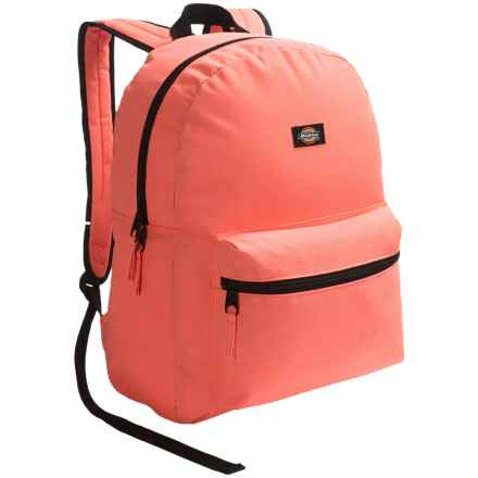 Dickies Student Backpack in Neon Coral - Overstock