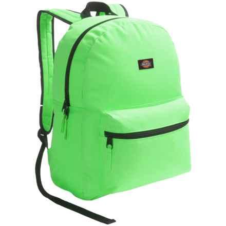 Dickies Student Backpack in Neon Green - Overstock