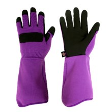 Dickies Synthetic Leather Rose Gloves (For Women) in Purple - Closeouts