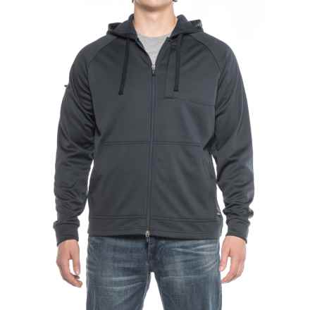 Dickies Tactical Bonded Fleece Hoodie - Full Zip (For Men) in Midnight - Closeouts